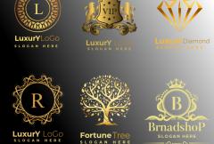 i-will-do-unique-modern-minimalist-luxury-vintage-royalty-logo